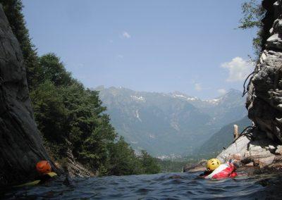 Descenso barrancos Rio Verde